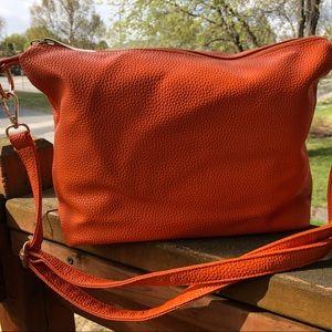 Handbags - SUMMER ORANGE SHOULDER BAG